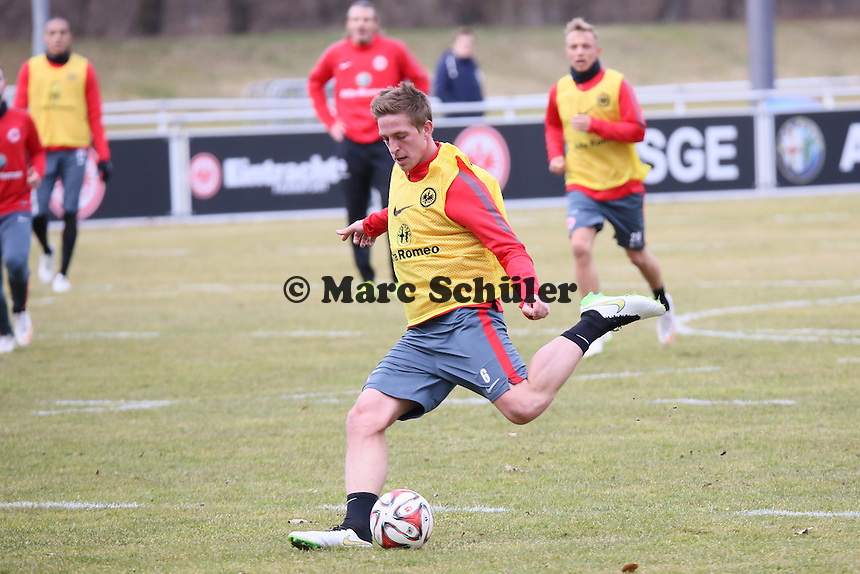Bastian Oczipka - Eintracht Frankfurt Training, Commerzbank Arena
