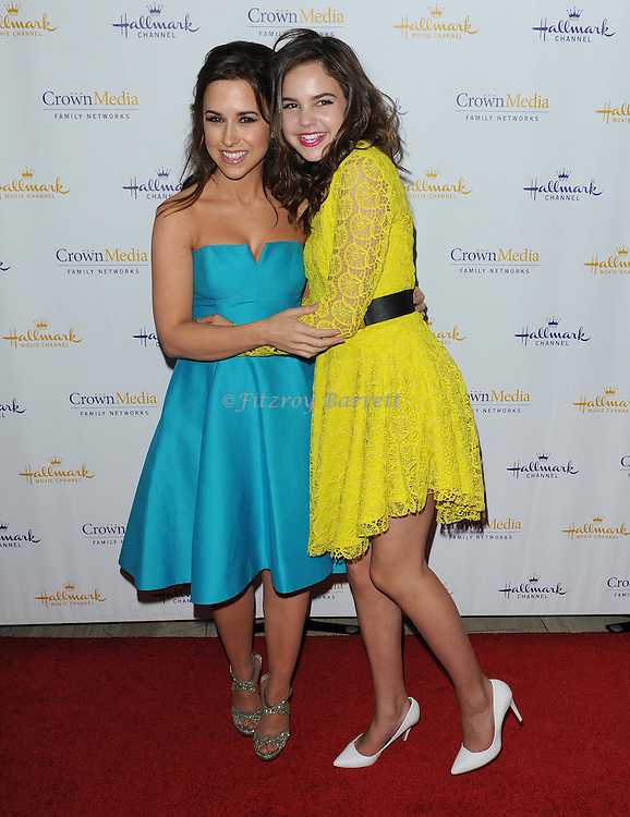 Lacey Chabert and Bailee Madison arriving at Hallmark Movie Channel Presents 'The Color Of Rain' held at the Paley Center For Media Beverly Hills, CA. May 28, 2014.