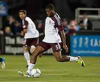 Santa Clara, California - Saturday August 25th, 2012: Colorado Rapids' Joseph Nane in action during a game against San Jose Earthquakes at Buck Shaw Stadium, Stanford, Ca    San Jose Earthquakes defeated Colorado Rapids 4 - 1