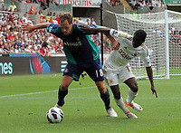 Saturday, 01 September 2012<br /> Pictured: Nathan Dyer of Swansea<br /> Re: Barclays Premier League, Swansea City FC v Sunderland at the Liberty Stadium, south Wales.