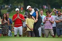 Rory McIlroy (NIR) chips on to 3 during Rd3 of the 2019 BMW Championship, Medinah Golf Club, Chicago, Illinois, USA. 8/17/2019.<br /> Picture Ken Murray / Golffile.ie<br /> <br /> All photo usage must carry mandatory copyright credit (© Golffile   Ken Murray)