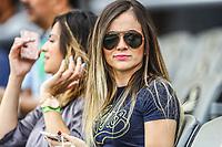 Aficionada . <br /> <br /> Aspectos del segundo d&iacute;a de actividades de la Serie del Caribe con el partido de beisbol  &Aacute;guilas Cibae&ntilde;as de Republica Dominicana contra Caribes de Anzo&aacute;tegui de Venezuela en estadio Panamericano en Guadalajara, M&eacute;xico,  s&aacute;bado 3 feb 2018. (Foto  / Luis Gutierrez)