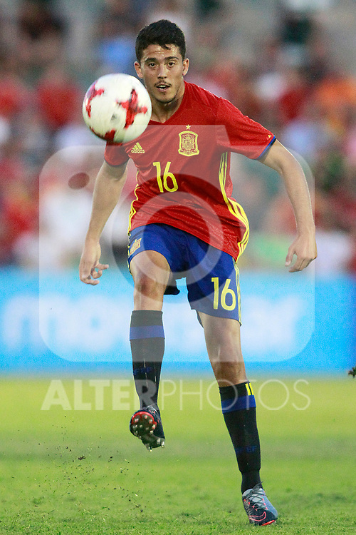 Spain's Pablo Fornals during international sub 21 friendly match. September 1,2017.(ALTERPHOTOS/Acero)