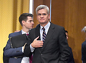 "United States Senator Bill Cassidy (Republican of Louisiana) awaits the start of the US Senate Committee on Finance ""Hearing to Consider the Graham-Cassidy-Heller-Johnson Proposal"" on the repeal and replace of the Affordable Care Act (ACA) also known as ""ObamaCare"" in Washington, DC on Monday, September 25, 2017.<br /> Credit: Ron Sachs / CNP"