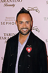 NICK VERROS. Arrivals to the launch of Beauty by Tarina Tarantino, sponsored by Sephora at Siren Studios. Hollywood, CA, USA. February 24, 2010.
