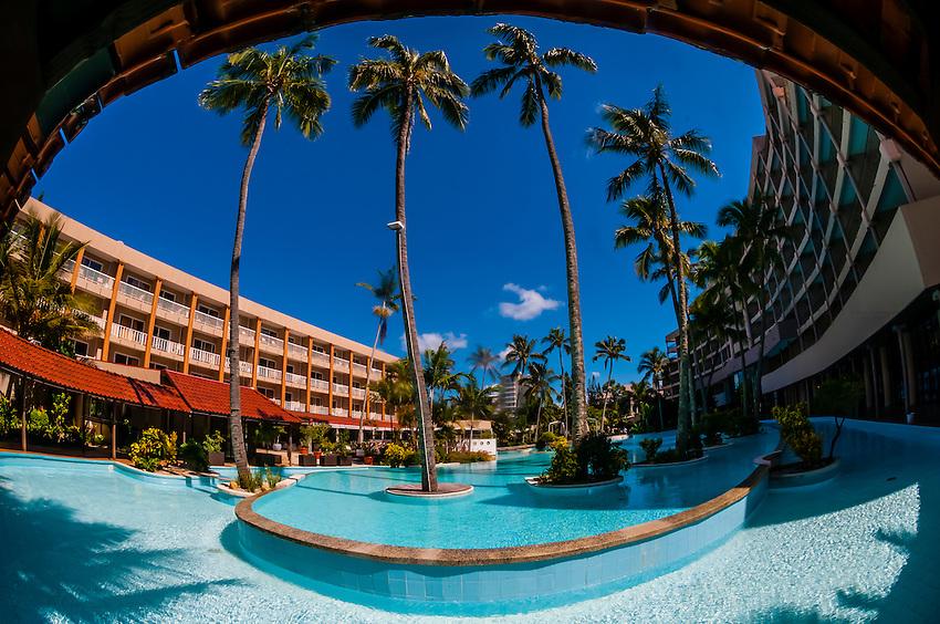 Swimming pool, Nouvata Park Hotel, Noumea, Grand Terre, New Caledonia