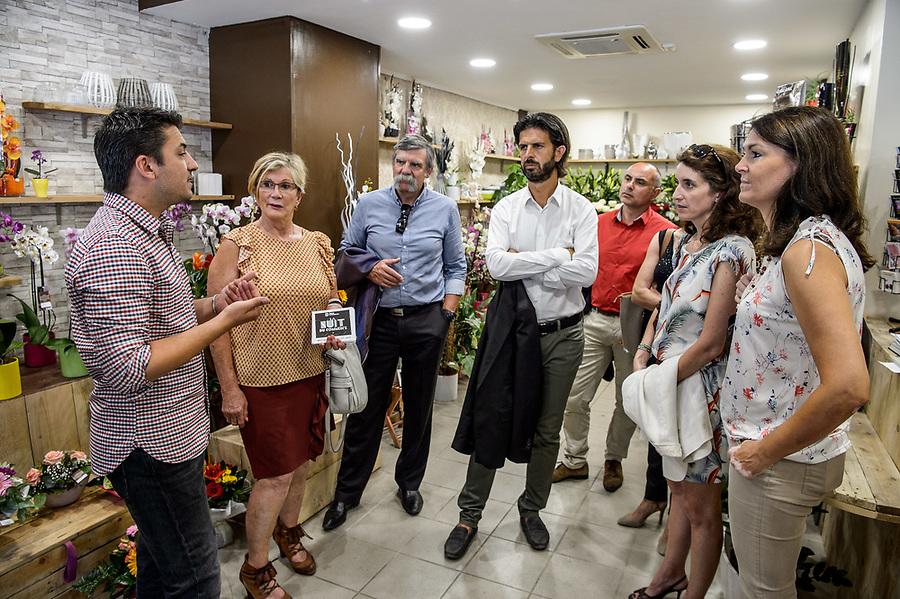 """""""Tous Entrepreneurs"""" - Tournée CCIMP - Etape Aubagne : visite entreprise EMYG + visite commerces Centre Ville + Networking Château des Creyssauds - 22 juin 2017"""