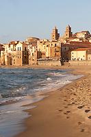 Beach at Cefalu, Sicily