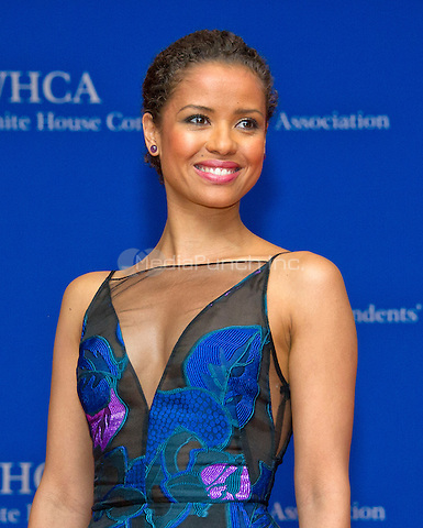 Actress Gugu Mbatha-Raw arrives for the 2016 White House Correspondents Association Annual Dinner at the Washington Hilton Hotel on Saturday, April 30, 2016.<br /> Credit: Ron Sachs / CNP<br /> (RESTRICTION: NO New York or New Jersey Newspapers or newspapers within a 75 mile radius of New York City)/MediaPunch