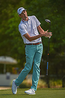 Chesson Hadley (USA) watches his tee shot on 2 during round 3 of the Houston Open, Golf Club of Houston, Houston, Texas. 3/31/2018.<br /> Picture: Golffile | Ken Murray<br /> <br /> <br /> All photo usage must carry mandatory copyright credit (&copy; Golffile | Ken Murray)