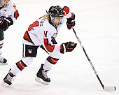 Chelsey Goldberg (Northeastern - 24) - The Northeastern University Huskies defeated the visiting Clarkson University Golden Knights 5-2 on Thursday, January 5, 2012, at Matthews Arena in Boston, Massachusetts.