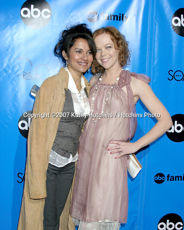 Suleka Mathew & Emily Bergl.ABC Television Critics Association Press Tour Party.Ritz-Carlton Hotel.Pasadena   CA.January 14, 2007.©2007 Kathy Hutchins / Hutchins Photo.