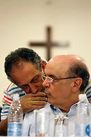 SÃO PAULO,SP,15 MARÇO 2012 - JOSÉ SERRA ZONA LESTE<br /> O pré candidato a prefeitura de São Paulo pelo PSDB José Serra esteve na noite de Hoje (15) participando de uma reunião no Circulo de Trabalhadores Cristãos de Vila Prudente na zona leste. FOTO ALE VIANNA - BRAZIL PHOTO PRESS
