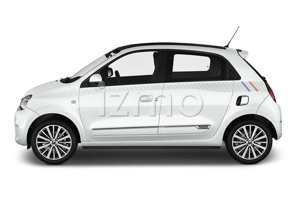 Car driver side profile view of a 2019 Renault Twingo Edition One + 5 Door Hatchback