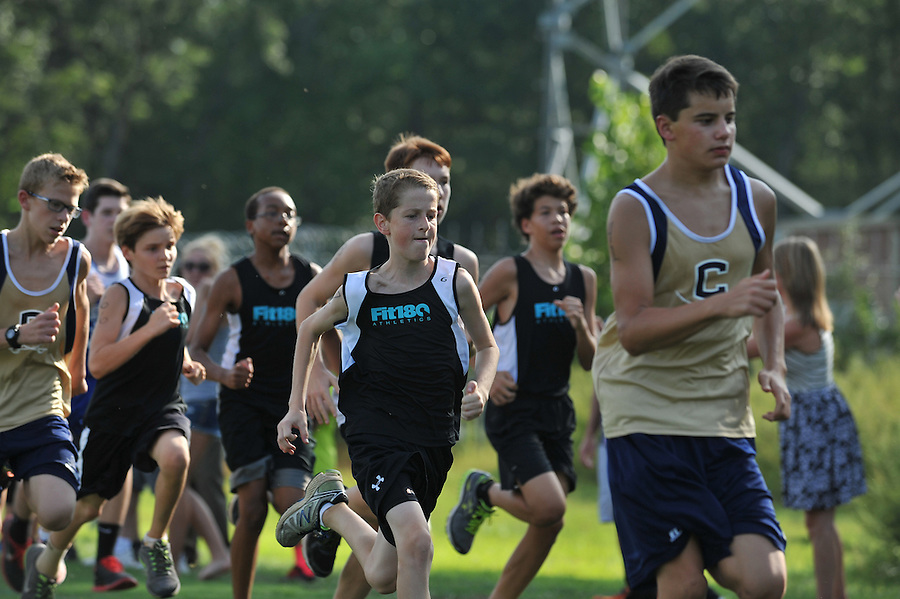 Fit 180:   Cross Country meet at Cuthbertson Middle School in Charlotte, North Carolina.  9/11/14