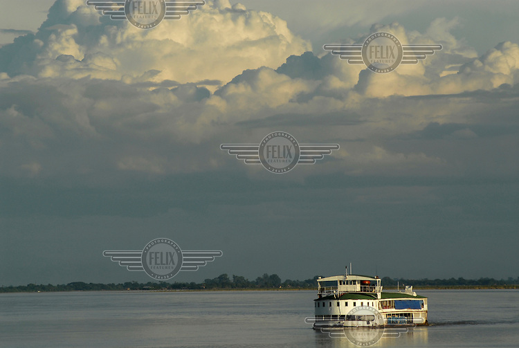 The Mandalay-Bhamo ferry. The ferry is a cheap but slow option, taking 36 hours or more to travel along the Ayeyarwaddy (Irrawaddy) River. In colonial times the river was known as the 'Road to Mandalay'. It is the country's largest river and its most important commercial waterway, dissecting the country from the Himalayan foothills in the north to its delta in the Indian Ocean.......