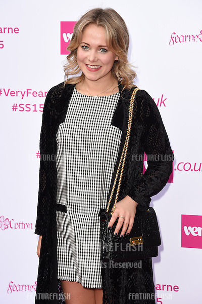 Poppy Jamie arrives for the launch of Fearne Cotton's new Very.co.uk SS15 range at No.1 Marylebone, London. 11/09/2014 Picture by: Steve Vas / Featureflash