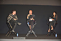 AVENTURA, FL - NOVEMBER 14: Musician/actor Nick Jonas, designer John Varvatos and Johanna Gomez speak on stage during the launch of their fragrance collaboration, JVxNJ Silver Edition, at Macy's Aventura on November 14, 2019 in North Miami, Florida. ( Photo by Johnny Louis / jlnphotography.com )