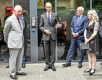 01 July 2019 - wales, UK - Prince Charles Prince of Wales, President, The Prince's Trust, visits their call centre. Photo Credit: ALPR/AdMedia