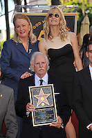 Bruce Dern, Diane Ladd their daughter Laura Dern on Hollywood Boulevard where they each were honored with a star on the Hollywood Walk of Fame. This was the first time in history that three stars from the same Hollywood family dynasty of actors was honored at the same time..The Hollywood Walk of Fame is celebrating its 50th anniversary this month..November 1, 2010  Los Angeles, CA.Picture: Paul Smith / Featureflash