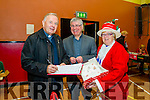 Fr Gerard Finucane, Fr Sean Hanafin and Phyllis McLoughlin at the  St Johns Parish Bazaar in the KDYS on Sunday