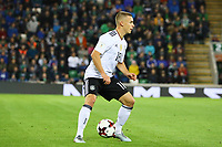 Joshua Kimmich (Deutschland, Germany)- 05.10.2017: Nordirland vs. Deutschland, WM-Qualifikation Spiel 9, Windsor Park Belfast