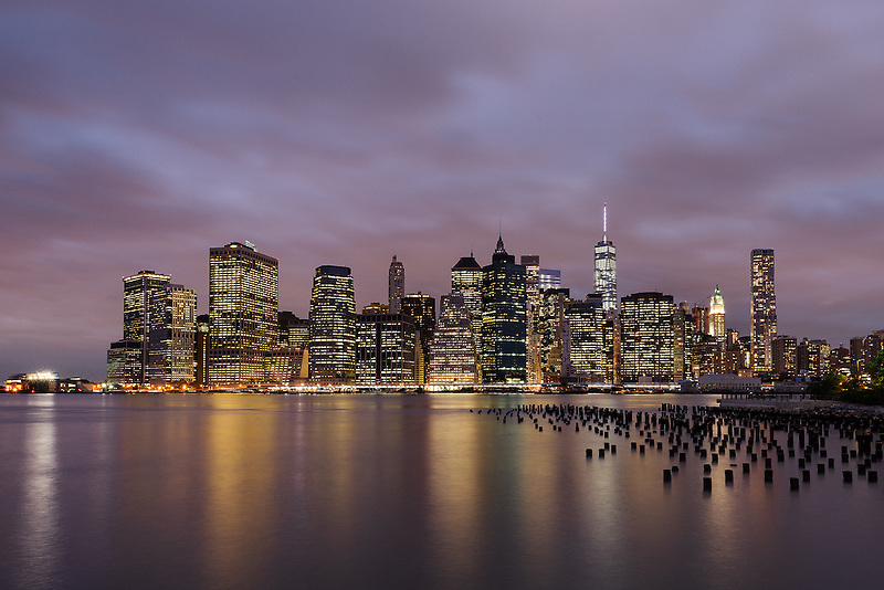 Lower Manhattan Dusk<br />