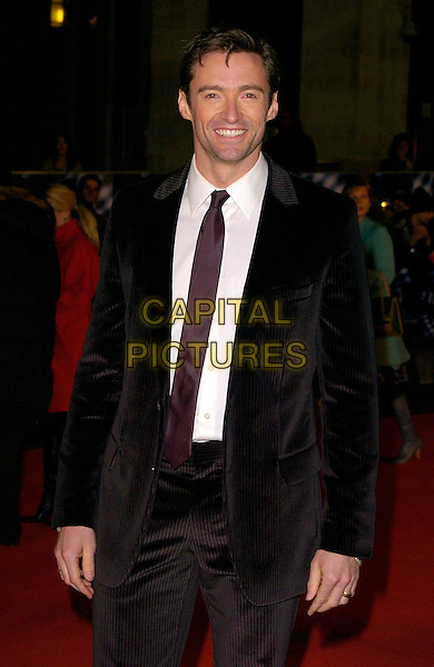 "HUGH JACKMAN.""The Prestige"" UK film premiere.Odeon West End cinema, Leicester Square.5th November 2006 London, England.Ref: CAN.half length black tie.www.capitalpictures.com.sales@capitalpictures.com.©Phil Loftus/Capital Pictures"