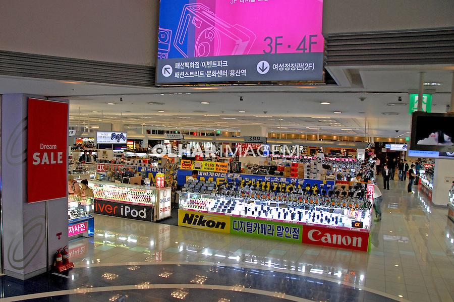 Lojas do Shopping de equipamentos eletronicos em Seul. Coréia do Sul. 2009. Foto de Thaïs Falcão.