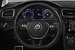 Car pictures of steering wheel view of a 2017 Volkswagen Golf Alltrack Base 5 Door Wagon