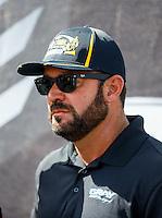 Sep 18, 2016; Concord, NC, USA; NHRA pro stock driver Shane Gray during the Carolina Nationals at zMax Dragway. Mandatory Credit: Mark J. Rebilas-USA TODAY Sports