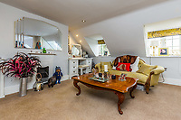 BNPS.co.uk (01202 558833)<br /> Pic: Rightmove/BNPS<br /> <br /> The home has four floors.<br /> <br /> A period property halfway up one of England's steepest hills is not a home for the faint-hearted.<br /> <br /> The buyer of this house - on the market for £975,000 - will need to be an energetic fitness fan to face the tough slog up the aptly named Steep Hill; the fourth steepest street in the country.<br /> <br /> The Grade II Listed townhouse is on Christs Hospital Terrace in Lincoln, a quaint cobbled street that branches off Steep Hill.<br /> <br /> The road has an unusually severe 16.12-degree gradient, making it one of the steepest residential streets in England, according to the Ordnance Survey.