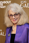 Blythe Danner attends the Roundabout Theatre Company's 2019 Gala honoring John Lithgow at the Ziegfeld Ballroom on February 25, 2019 in New York City.