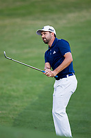 Sergio Garcia (ESP) on the 18th during the 1st round at the WGC Dell Technologies Matchplay championship, Austin Country Club, Austin, Texas, USA. 22/03/2017.<br /> Picture: Golffile | Fran Caffrey<br /> <br /> <br /> All photo usage must carry mandatory copyright credit (&copy; Golffile | Fran Caffrey)