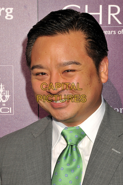 REX LEE.8th Annual Chrysalis Butterfly Ball held at a Private Residence, Los Angeles, CA, USA..June 6th, 2009.headshot portrait grey gray green tie .CAP/ADM/BP.©Byron Purvis/AdMedia/Capital Pictures.