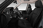 Front seat view of 2016 Land Rover Discovery HSE 5 Door Suv Front Seat  car photos