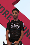 Phillip Deignan (IRL) Team Sky at the Team Presentation in Alghero, Sardinia for the 100th edition of the Giro d'Italia 2017, Sardinia, Italy. 4th May 2017.<br /> Picture: Eoin Clarke | Cyclefile<br /> <br /> <br /> All photos usage must carry mandatory copyright credit (&copy; Cyclefile | Eoin Clarke)