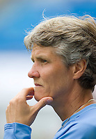 Pia Sundhage. The USWNT defeated Canada, 1-0, at Suwon World Cup Stadium in Suwon, South Korea, to win the Peace Queen Cup.