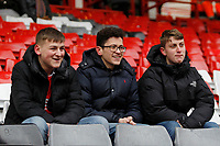 Fleetwood Town FC fans seen during the Sky Bet League 1 match between Charlton Athletic and Fleetwood Town at The Valley, London, England on 17 March 2018. Photo by Carlton Myrie.