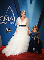 08 November 2017 - Nashville, Tennessee - Willow Sage Hart, Pink, Alecia Moore. 51st Annual CMA Awards, Country Music's Biggest Night, held at Music City Center. <br /> CAP/ADM/LF<br /> &copy;LF/ADM/Capital Pictures