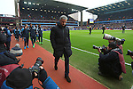 Manager of Chelsea, Jose Mourinho heads for the dug out ahead of kick off - Aston Villa vs. Chelsea - Barclay's Premier League - Villa Park - Birmingham - 07/02/2015 Pic Philip Oldham/Sportimage