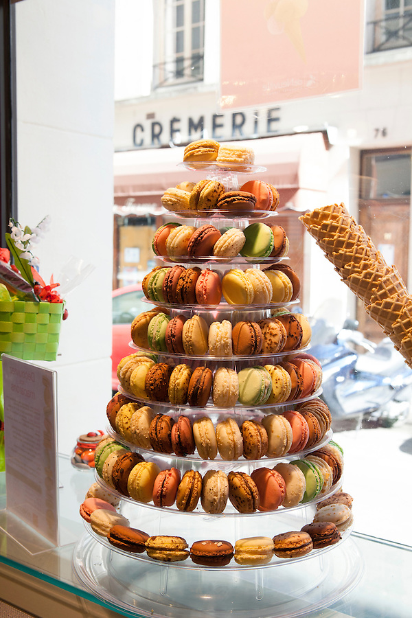 de Neuville chocolate and sweet shop in Paris, France
