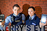 Tralee Gardai are warning on people people to take note IMEI number in case their phones are stolen James Fairbrother and Lynda Brosnan.