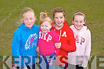 GAMES: Having a great time at the Spa-Fenit-Barrow community games at The Spa on Thursday l-r: Emma and Kate Fitzgibbon, Aoife O'Connor and Leonie Dowling, The Spa.