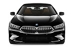 Car photography straight front view of a 2019 BMW 8 Series Basis 4 Door Sedan