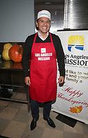 LOS ANGELES, CA - NOVEMBER 27: Antonio Ramón Villaraigosa, at Los Angeles Mission Thanksgiving For The Homeless at Los Angeles Mission in Los Angeles, California on November 27, 2019. <br /> CAP/MPIFS<br /> ©MPIFS/Capital Pictures