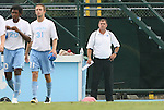 31 August 2008: UNC head coach Elmer Bolowich. The University of North Carolina Tar Heels defeated the Virginia Commonwealth University Rams 1-0 in overtime at Fetzer Field in Chapel Hill, North Carolina in an NCAA Division I Men's college soccer game.