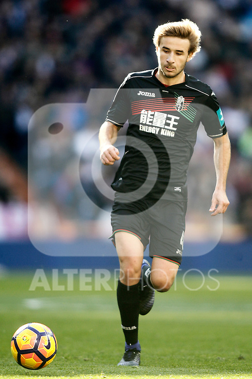 Granada CF's Sergi Samper during La Liga match. January 7,2016. (ALTERPHOTOS/Acero)