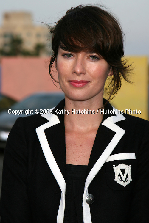 Lena Headey  arriving at the Fox TV TCA Summer 08 Party at the Santa Monica Pier in Santa Monica, CA on.July 14, 2008.©2008 Kathy Hutchins / Hutchins Photo .