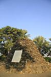 Israel, Tel Beth Yerah by the Sea of Galilee, Gal Herzl in Kinneret Cemetery